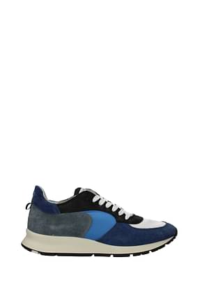 Philippe Model Sneakers montecarlo Herren Stoff Blau Schwarz
