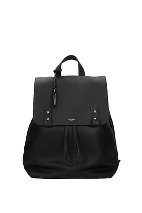 Saint Laurent Backpack and bumbags Women Leather Black