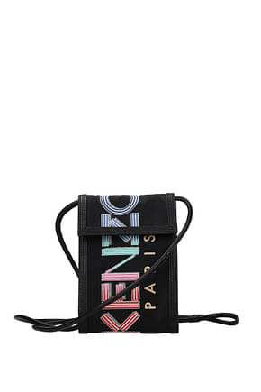 Kenzo Selfphone Cover Men Fabric  Black