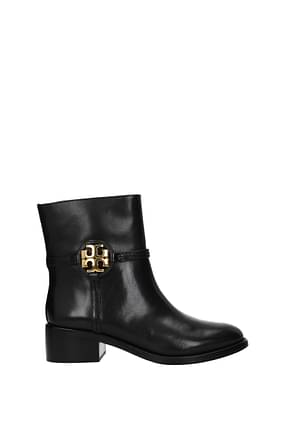 Tory Burch Ankle boots miller Women Leather Black