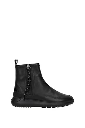 Hogan Ankle boots interactive 3 Women Leather Black