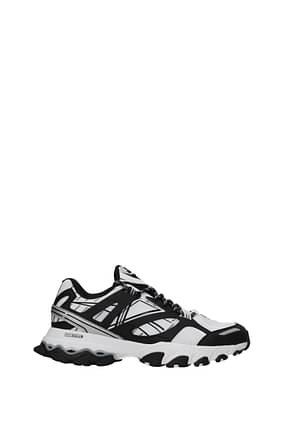 Reebok Sneakers Men Fabric  White Black