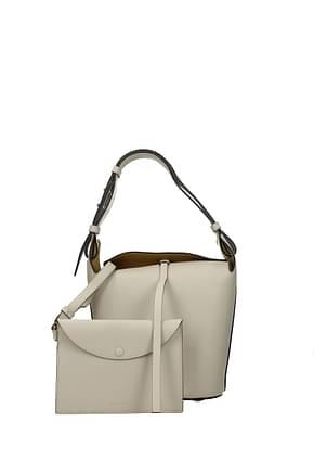 Burberry Shoulder bags Women Leather Beige
