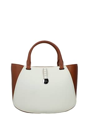 Loro Piana Handbags Women Leather Beige Emmer