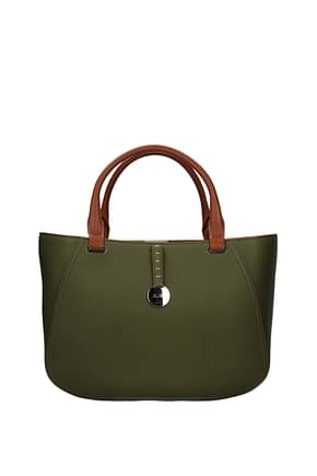 Loro Piana Handbags Women Leather Green Olive