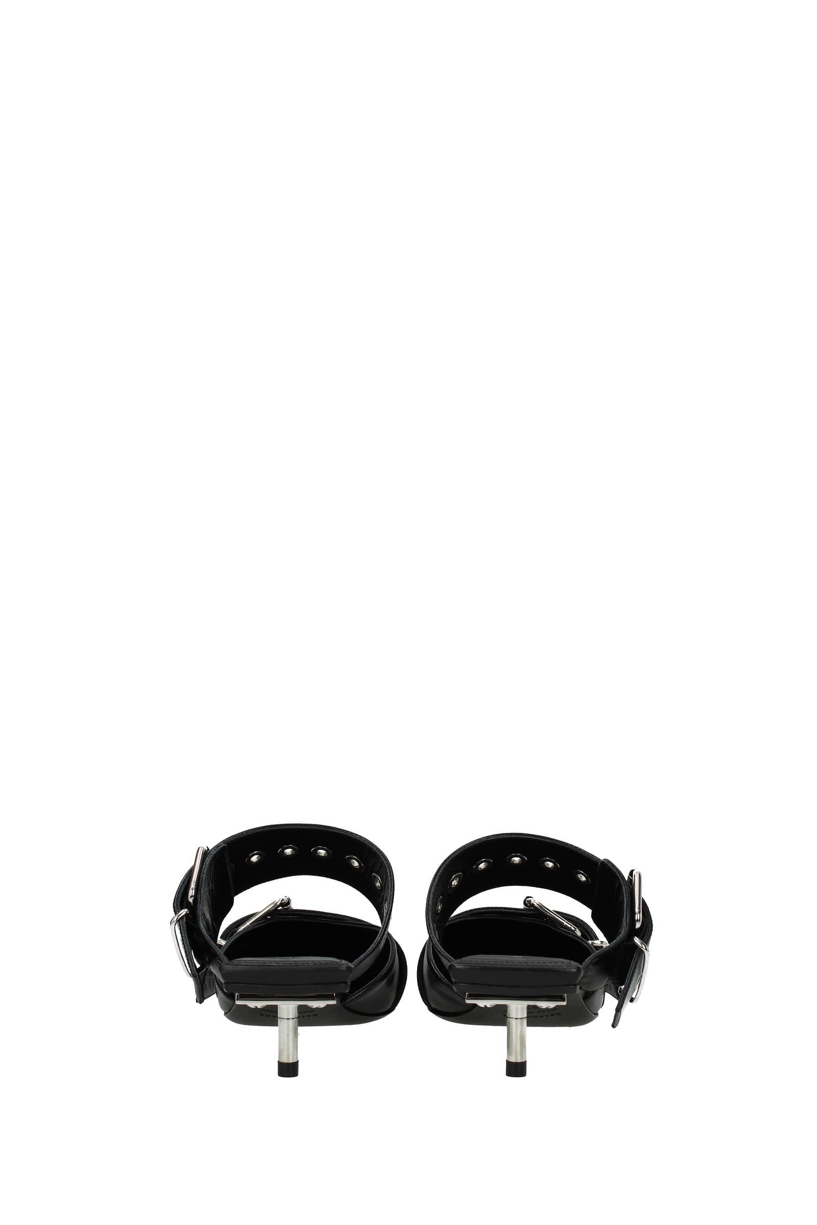 565428WAZN0 Leather Sandals Balenciaga Woman