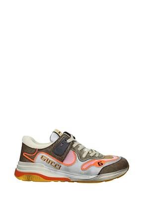 Gucci Sneakers Men Fabric  Multicolor