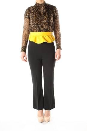 Max Mara High-waist belts Women Leather Yellow