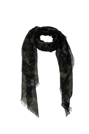 Valentino Foulard Men Modal Green