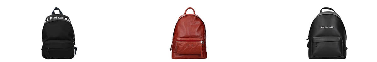 balenciaga backpack mens