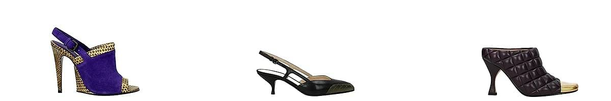bottega veneta square toe sandals