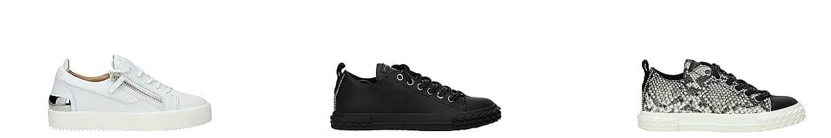 giuseppe zanotti mens sneakers
