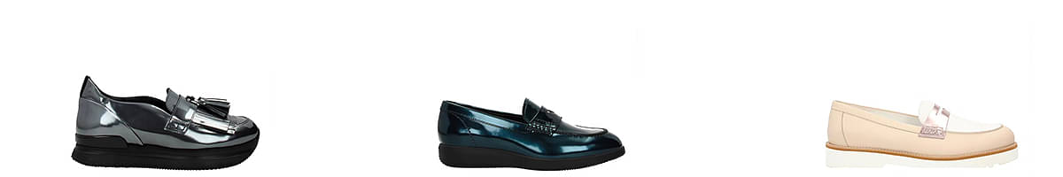 hogan loafers ladies
