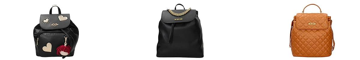love moschino drawstring backpack