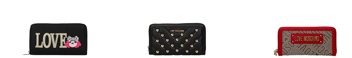love moschino wallet womens