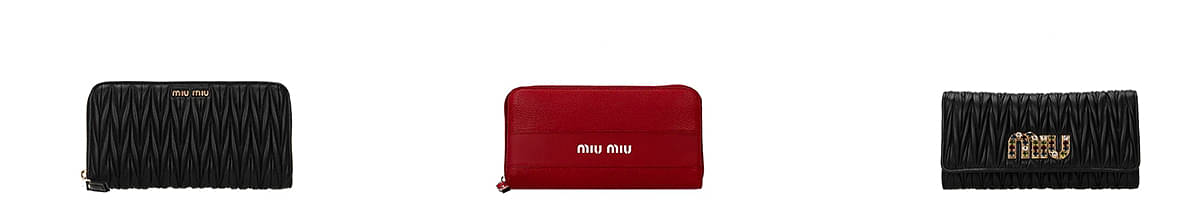 miu miu card wallet