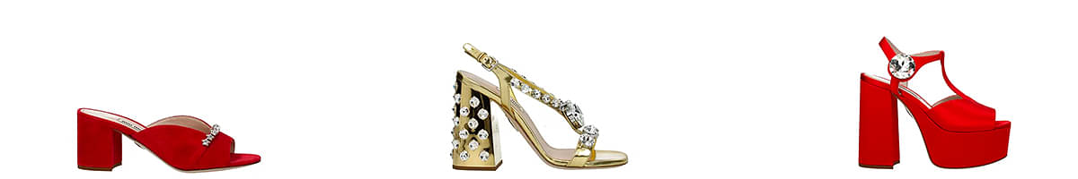 miu miu jewel sandals