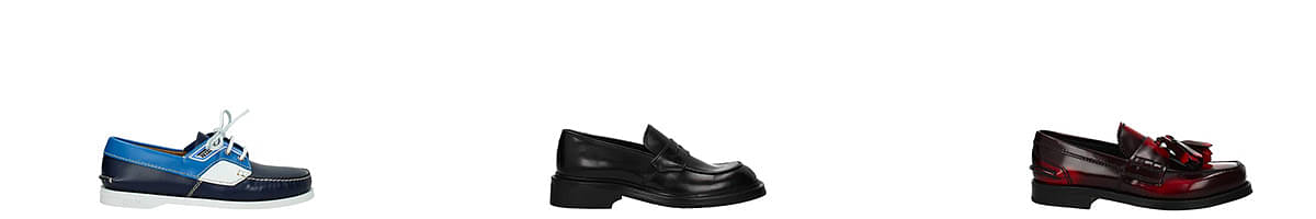 prada mens loafers