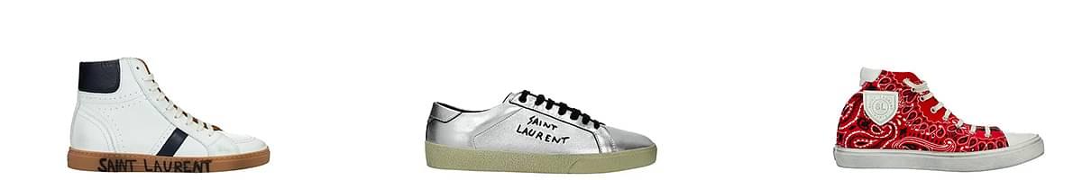 saint laurent sneakers womens